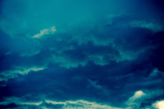 Free Dark Grey Storm Clouds Filtered Stock Photography - 88315332