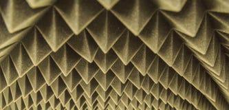 Dark grey triangular texture acoustic foam rubber. Dark grey triangular texture acoustic Royalty Free Stock Image