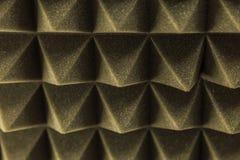 Dark grey triangular texture acoustic foam rubber. Grey triangular texture acoustic foam rubber Royalty Free Stock Photography