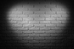 Dark grey wall with heart shape light effect and shadow, abstract background photo Royalty Free Stock Photos