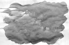 Dark grey watercolor background for wallpaper. Aquarelle color illustration.  vector illustration
