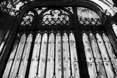 Dark grille Stock Photography