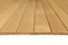 Dark grooved boards. Lie to the viewer stock image