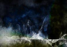 Dark grunge Stock Image