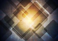 Dark grunge geometric vector background. Dark grunge geometric vector tech background vector illustration
