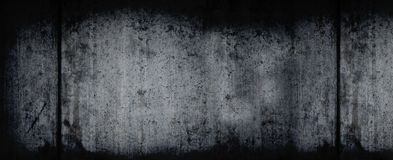 Dark Grunge Horizontal Background Stock Image