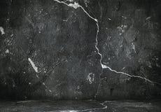 Dark grunge interior Royalty Free Stock Image