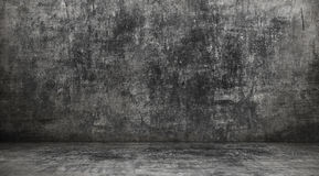 Dark grunge interior Stock Image