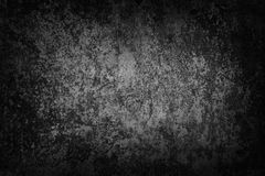 Dark grunge iron wall Royalty Free Stock Images