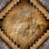 Dark Grunge Metal Background Stock Photography