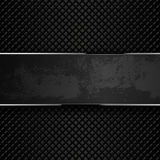 Dark grunge metal backgrounds. Vector illustration Stock Image