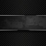 Dark grunge metal backgrounds. Vector illustration Stock Image
