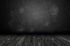 Dark grunge room Stock Image