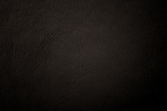 Dark grunge scratched leather Stock Images