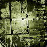Dark grunge texture vector Royalty Free Stock Photos