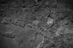 Dark grunge textured old wall closeup Royalty Free Stock Photo