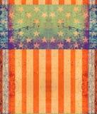Dark Grunge US Flag Stock Photography