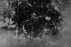Dark grungy background Stock Images
