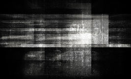 Dark grungy concrete background 3 d. Abstract grungy concrete background with dark chaotic structures pattern. Black and white 3d render illustration Stock Photos