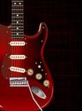 Dark Guitar Stock Photography