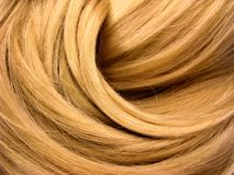 Dark hair texture background Stock Images