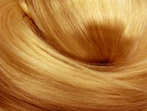 Dark hair texture background Royalty Free Stock Image
