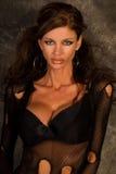 Dark Haired Goth Model Royalty Free Stock Photo