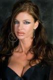 Dark Haired Goth Model Stock Image