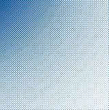 Dark halftone blue Stock Image
