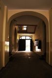 Dark hall Royalty Free Stock Photo
