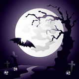 Dark Hallooween Background Royalty Free Stock Photo
