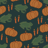 Dark halloween background Royalty Free Stock Image