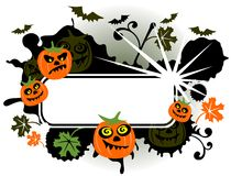 Dark halloween fame Royalty Free Stock Photos