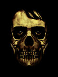 Dark Halloween Mask Portrait Royalty Free Stock Images