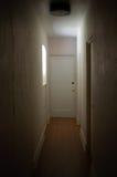 Dark Hallway. Hallway in an old house illuminated by a window Stock Photography