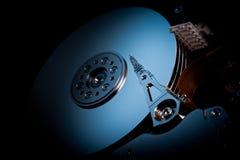Dark hard disk srive Royalty Free Stock Photo