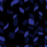 Dark herb pattern Royalty Free Stock Photo