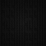 Dark  hex computer code Royalty Free Stock Photo