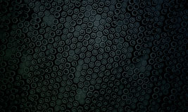 Dark hexagon pattern 2 Stock Images