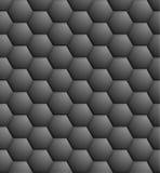 Dark hexagon pattern Royalty Free Stock Photo