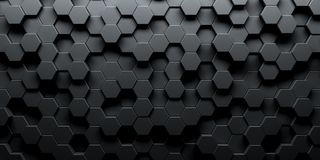 Free Dark Hexagon Wallpaper Or Background Royalty Free Stock Images - 155685909