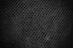 Dark hole texture background Royalty Free Stock Photos