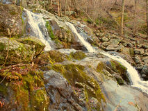 Dark Hollow Falls Shenandoah National Park Royalty Free Stock Photo