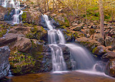 Dark Hollow Falls in Shenandoah National Park Stock Image
