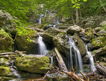 Dark Hollow Falls, Shenandoah National Park Stock Images