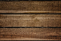 Dark horizontal boards wood texture, background Royalty Free Stock Photos