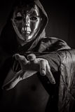 Dark horror phantom vigilante Royalty Free Stock Photo