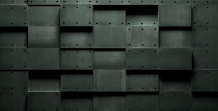 Dark Horror-Style Grungy Background Stock Images