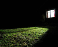 Free Dark House At Night Stock Images - 13334924