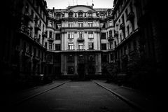 The Dark House Stock Photography